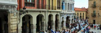 Mesas de la Comida en la Calle, Avilés, Asturias