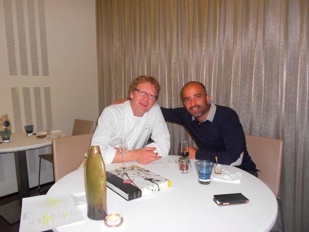 Con Bernd Knöller, el alma del Riff