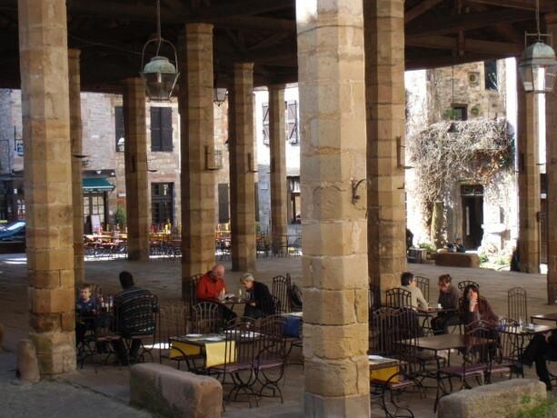 La plaza techada