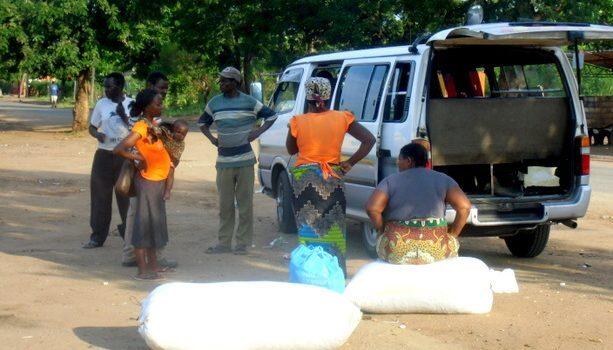 La chapa con la que crucé la frontera de Sudáfrica a Mozambique