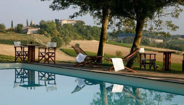 Las vistas desde el hotel Château de Salettes (cc Châteua de Salettes)