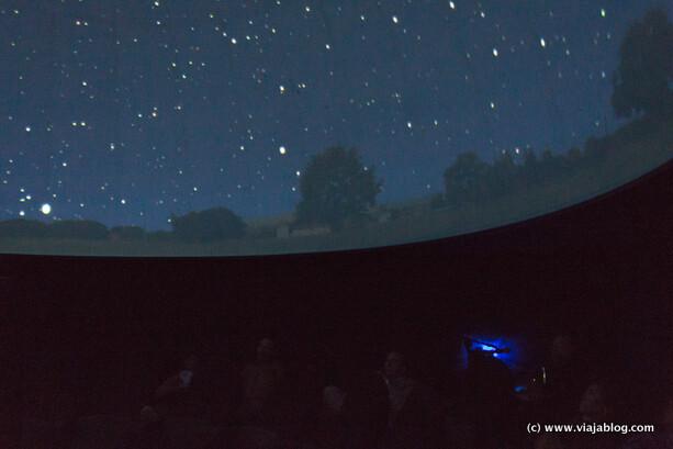 Planetario del Centro Astronómico de Tiedra en Valladolid