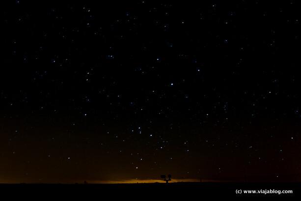 Cielo de Valladolid junto al Centro Astronómico de Tiedra