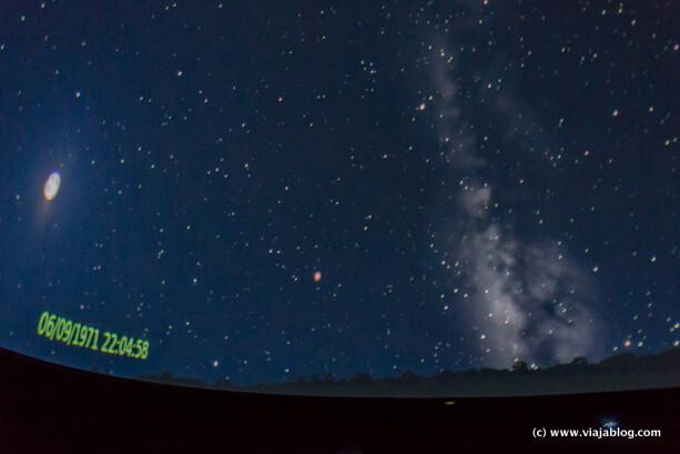 Cielo Nocturno Planetario Centro Astronómico de Tiedra en Valladolid