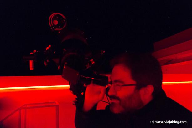 Fernando Cabrerizo, Director Técnico del Centro Astronómico de Tiedra en Valladolid
