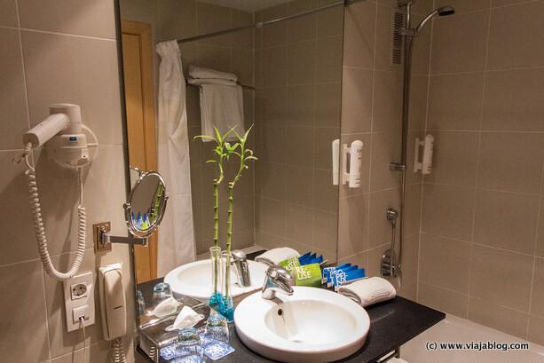 Cuarto de Baño Habitación Hotel Tryp Barcelona Aeropuerto