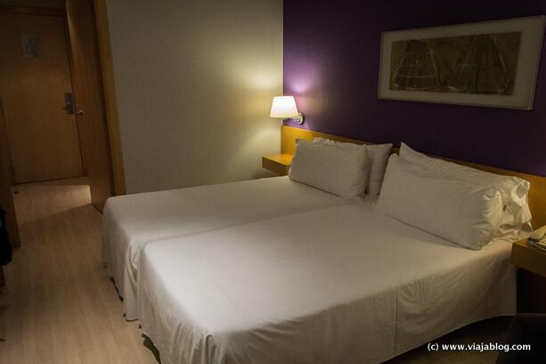 Camas Habitación Hotel Tryp Barcelona Aeropuerto