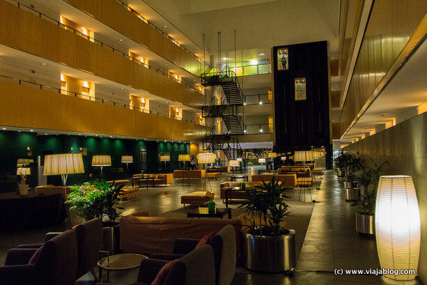 Vista Lobby Hotel Tryp Barcelona Aeropuerto