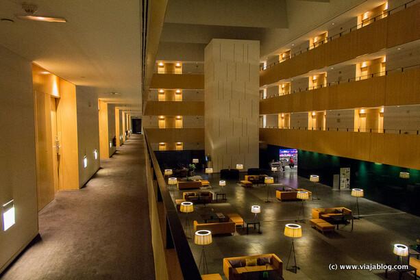 Lobby Hotel Tryp Barcelona Aeropuerto