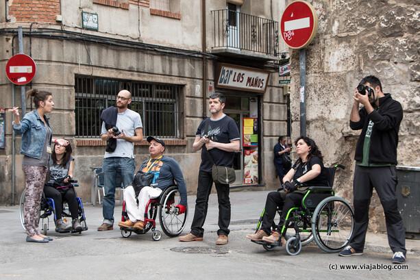 Visitando Teruel (Aragón) en silla de ruedas