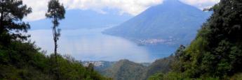 Vistas del lago Atitlán