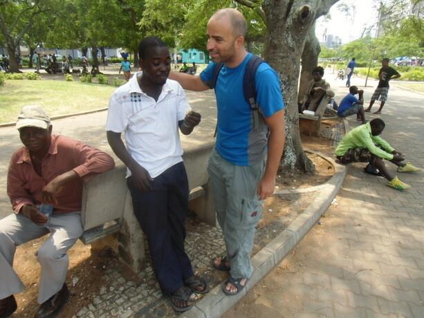 Haciendo amigos por Maputo