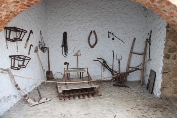Aperos de labranza tradicionales de Casar de Cáceres