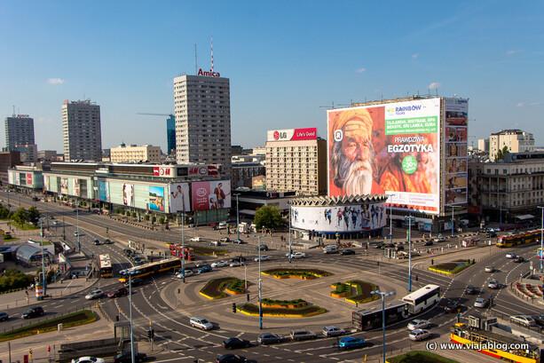 Vistas desde habitación Metropol Hotel en Varsovia
