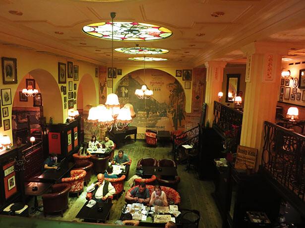 El interior del recomendable restaurante Festival '39