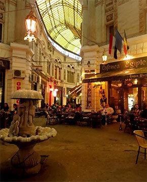 Calea Victoriei boulevard, ideal para tomar shisha