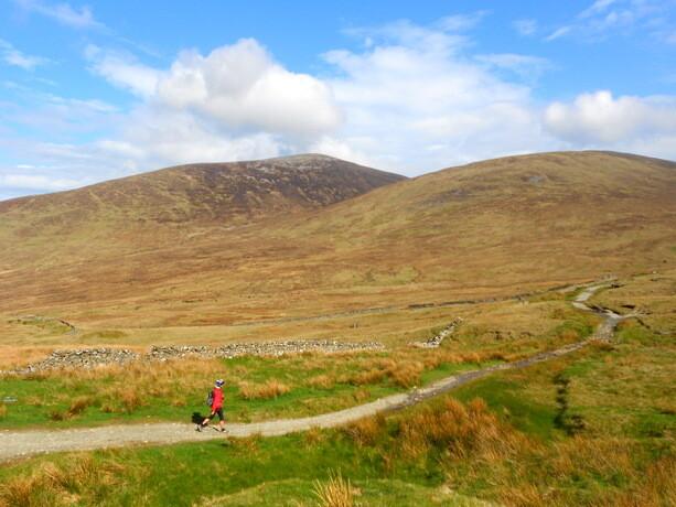 Las montañas Mourne, en County Down