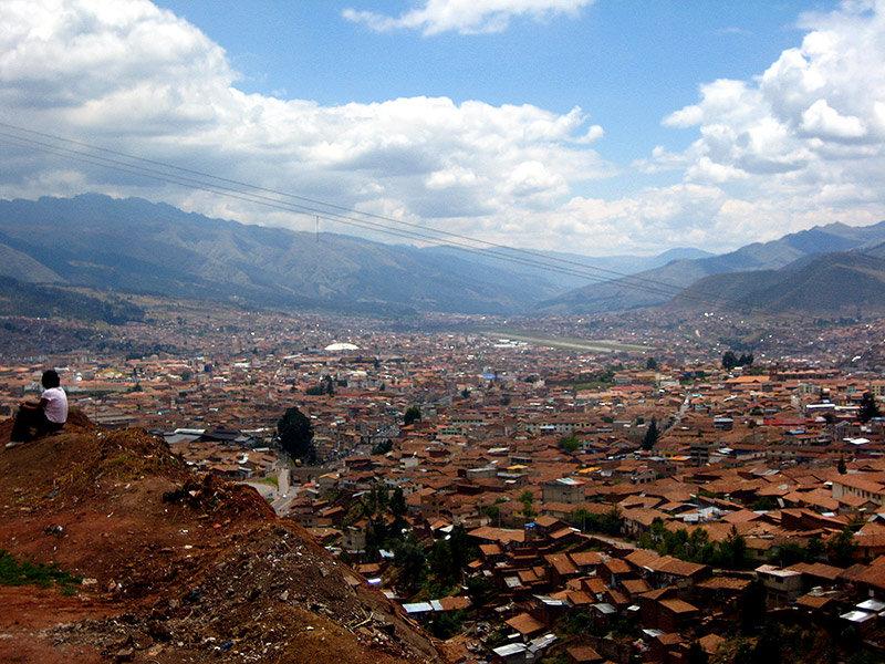Vistas a la ciudad de Cuzco