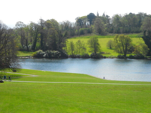 El bello Forest Park de Castlewellan