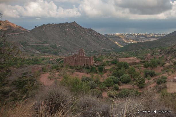 Ruinas del Monasterio, Desierto de las Palmas, Benicassim en Castellón