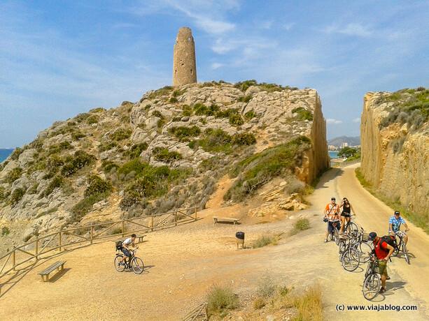 Torre de la Colomera, Vía Verde del Mar, Benicassim