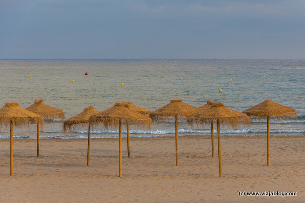 Playa de Benicassim en Castellón