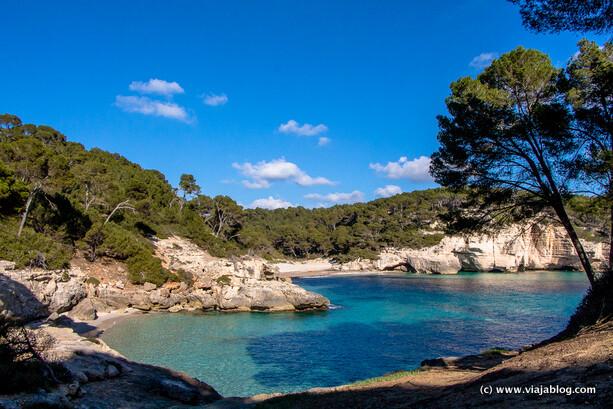 Cala Mitjana, Menorca, Islas Baleares