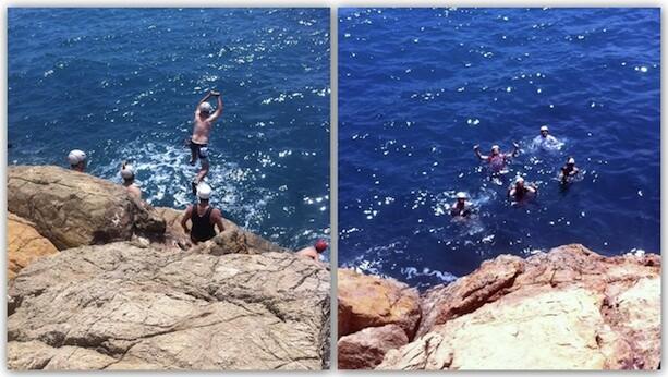 Coasteering en Benicassim, chapuzón Mediterráneo