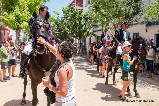 Esperando para el Jaleo, Fiestas de Sant Jaume, Es Castell, Menorca