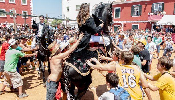 Jaleo en Fiestas Sant Jaume, Es Castell, Menorca