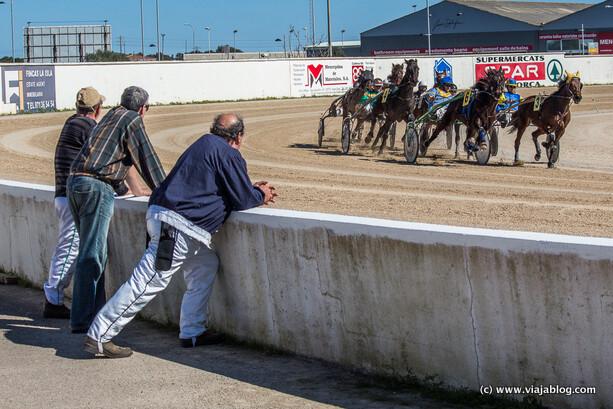 Jineets contemplando una carrera, Hipódromo de Mahón, Menorca