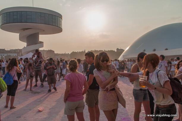 Festival bajo el sol, Holi Party, Centro Niemeyer, Avilés