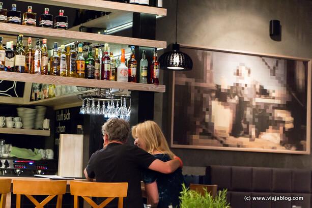 Interior Restaurante Cud Miód Varsovia