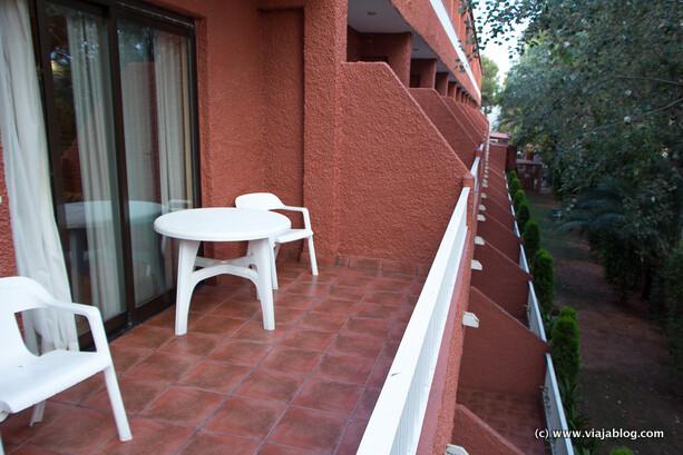 Terraza Hotel Intur Bonaire Benicasim