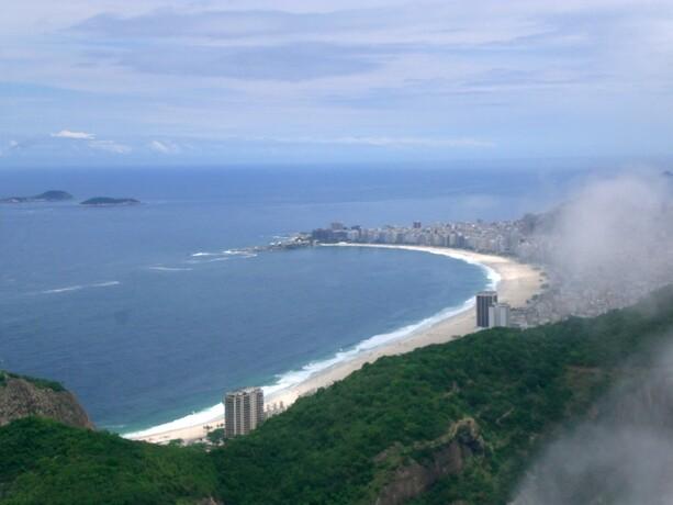Nuestro campo de fútbol nocturno: Copacabana