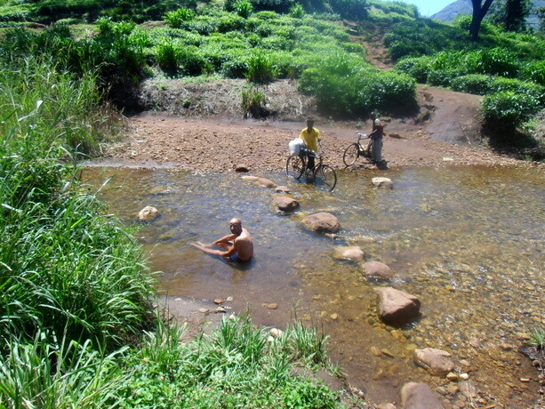 Los ríos eran nuestra salvación con ese calor