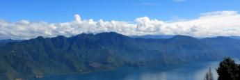 Impresionantes vistas casi llegano al mirador del volcán San Pedro