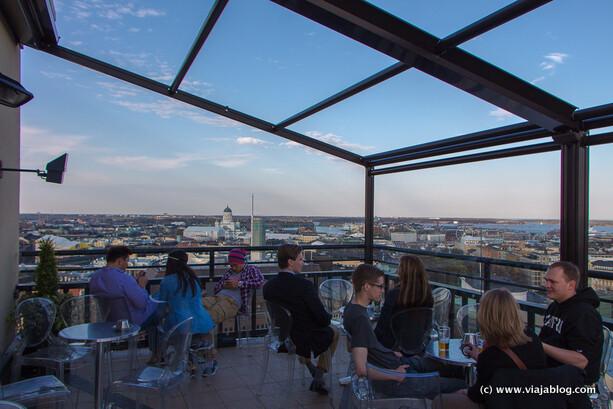 El Wc Con Las Mejores Vistas De Helsinki Y Dos Terrazas