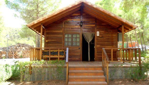 Nuestra cabaña en el Balneario de la Concepción