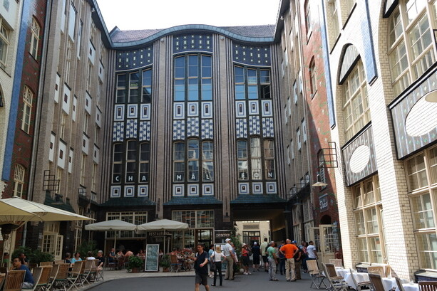 Bonita arquitectura en Berlín