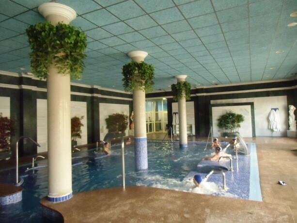 La piscina de hidromasaje