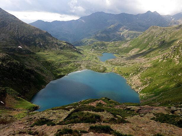 Visual desde lo alto del Llac de Més Amunt