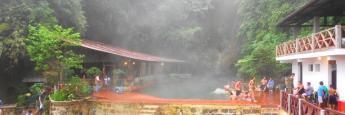 Las fuentes Georginas de Quetzaltenango