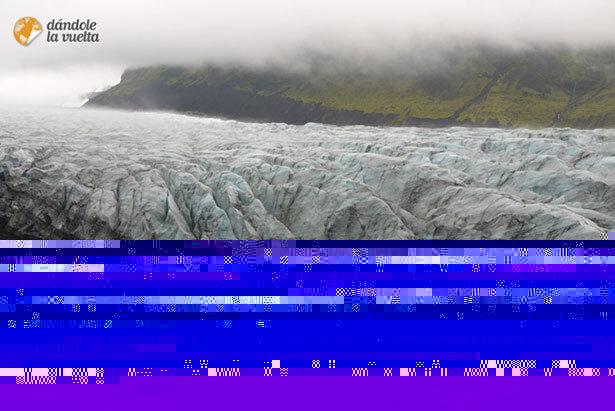 El glaciar Sandfell Svinfell @dandolelavuelta