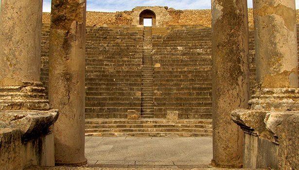 teatro romano tunez