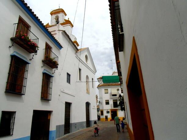 Las estrechas y pintorescas calles del centro histórico