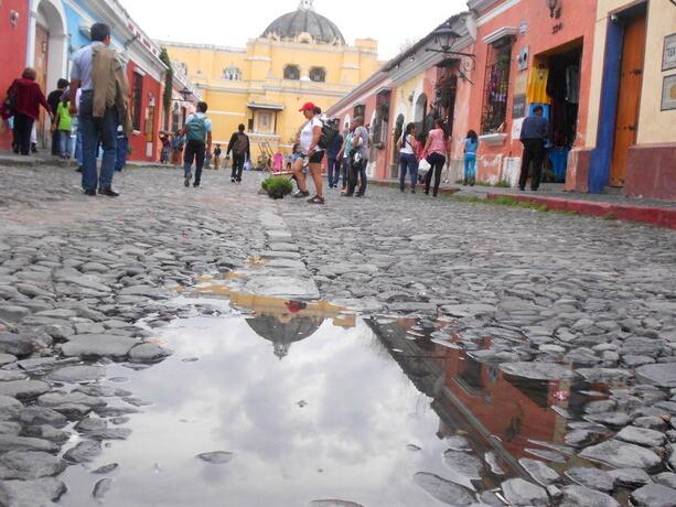 La calle del Arco de Santa Catalina