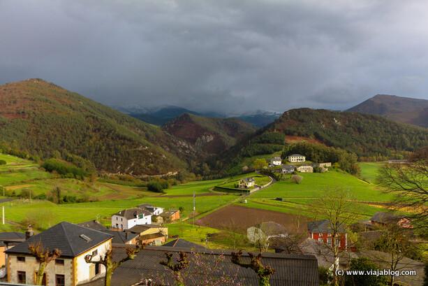 Paisajes zona de Boal en Asturias