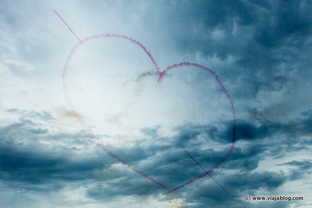 Red Arrows amor por Menorca