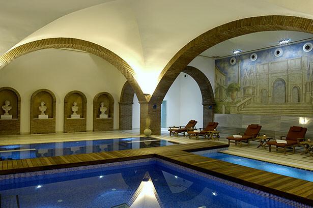 Aguas termales del Gran Hotel Balneario Blancafort